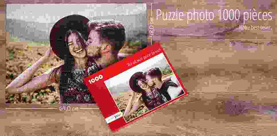 Puzzle photo 1000 pièces