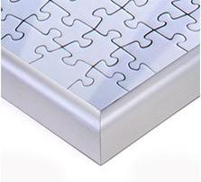 """""""Cadre pour puzzle; Vue détaillée coin"""