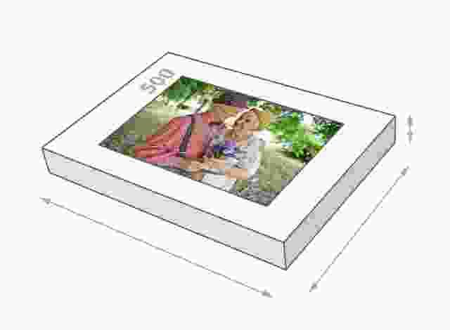 Fotopuzzel met doosgrootte van 500 stukjes