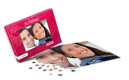 Idée cadeau puzzle photo