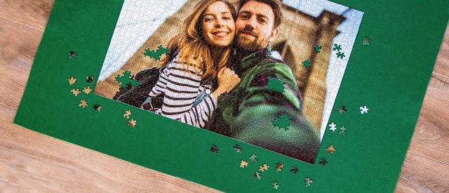 tapis pour votre puzzle photo
