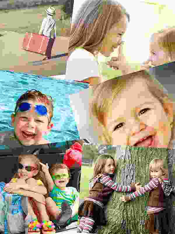 Photo Puzzle with Overlapping collage 6 Photos