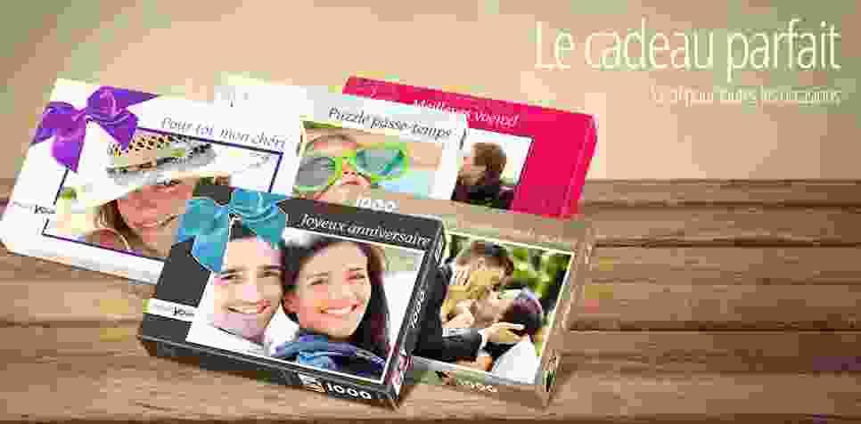 La boîte adaptée à votre puzzle photo