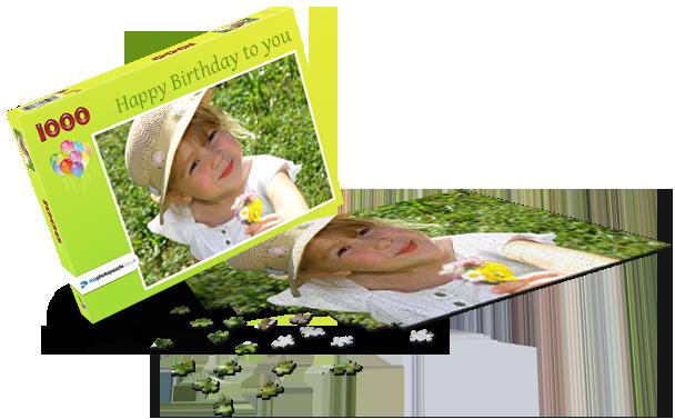 Puzzle box Children's Birthday