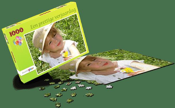 Puzzeldoos Kinderverjaardag