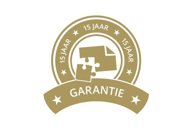 15 jaar garantie