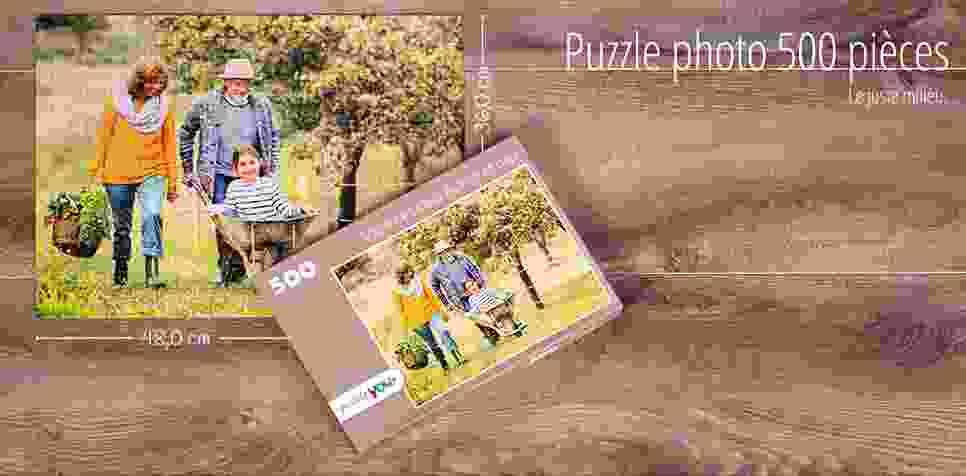 Puzzle photo 500 pièces