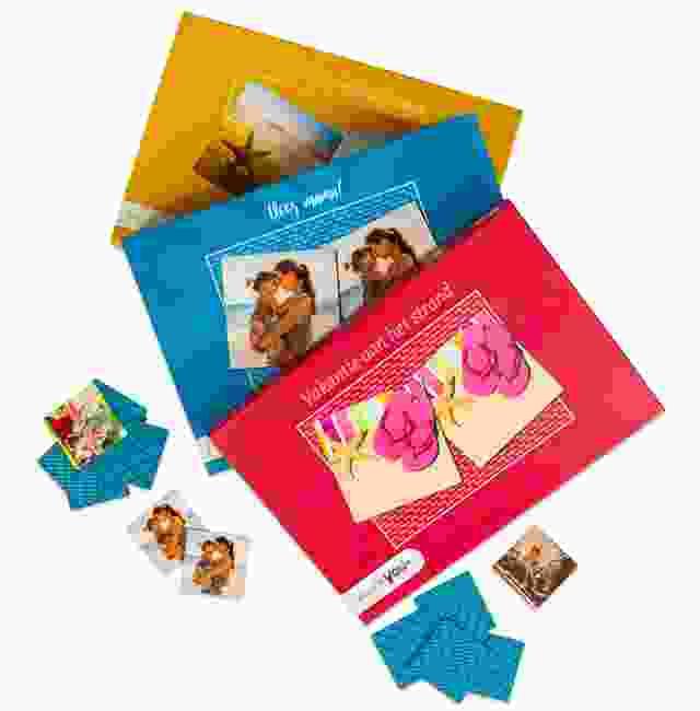 Kleuren Memo spel dozen