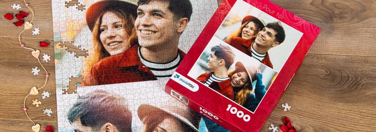 puzzle photo pêlê-mêle paire