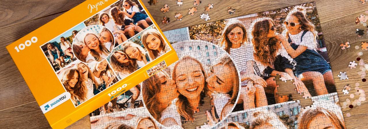 puzzle photo pêlê-mêle amis