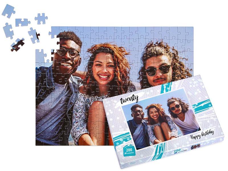 Puzzeldoos voor uw fotopuzzel 200 stukjes vrienden