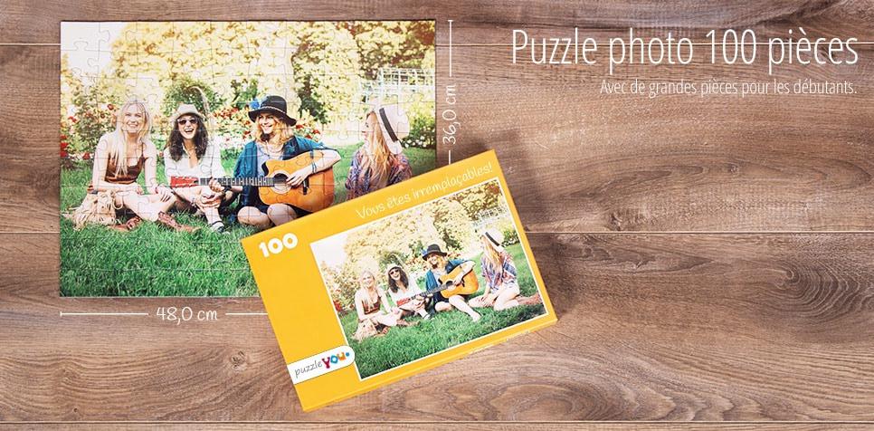 Puzzle photo 100 pièces