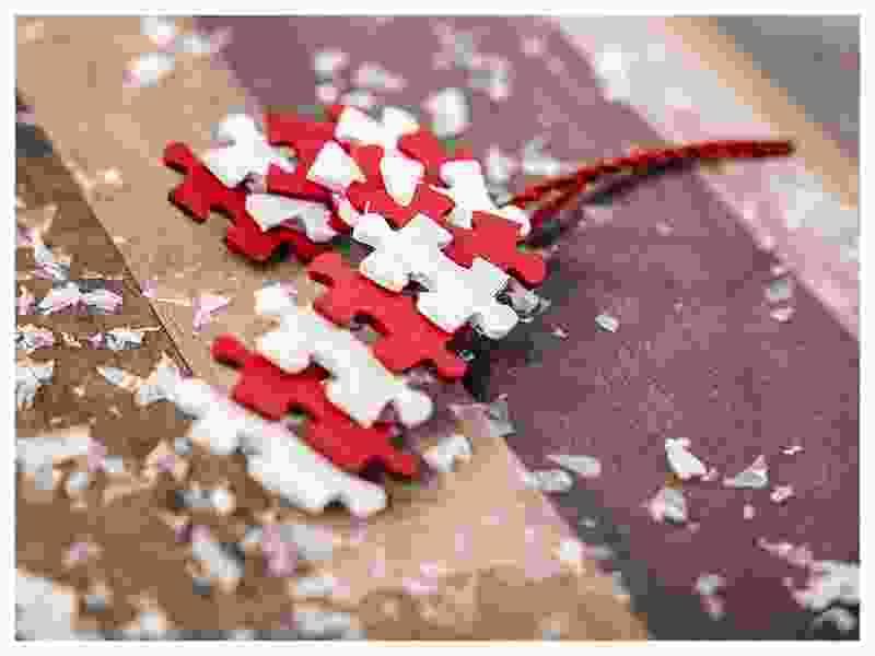 Puzzel suikerstang