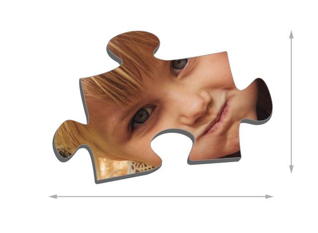 Dimensions des pièces du puzzle - Puzzle photo 1000 pièces