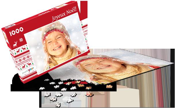 Boîte pour puzzle Noël IV