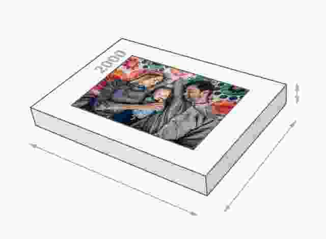 Fotopuzzel met doosformaat van 2000 stukjes