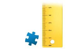 Echelle de comparaison pièce du puzzle - Puzzle photo 2000 pièces