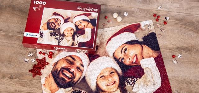 Originele Sint- of kerstcadeaus met uw eigen Foto's