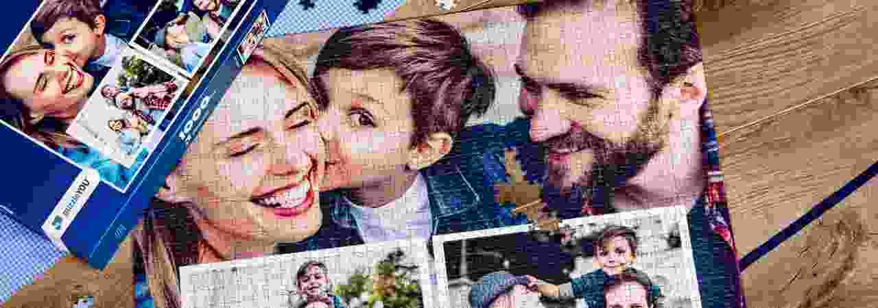 puzzle photo pêlê-mêle famille