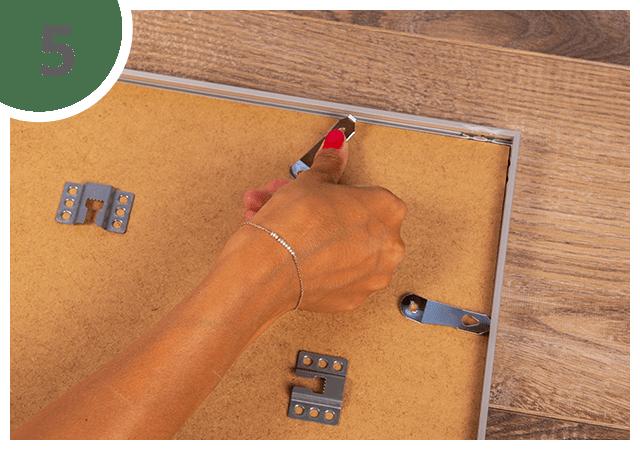 Instructies voor puzzelkader 48 tot 2000 stukjes Stap 5