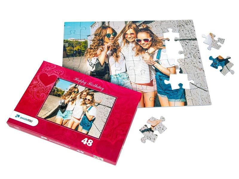 Puzzeldoos voor uw fotopuzzel 48 stukjes