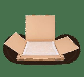 Puzzelkader verpakking