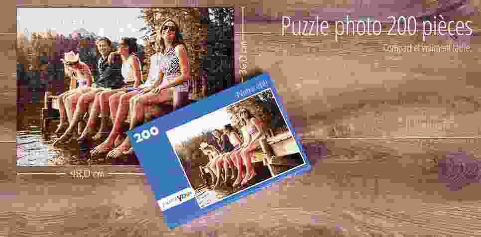 Puzzle photo 200 pièces