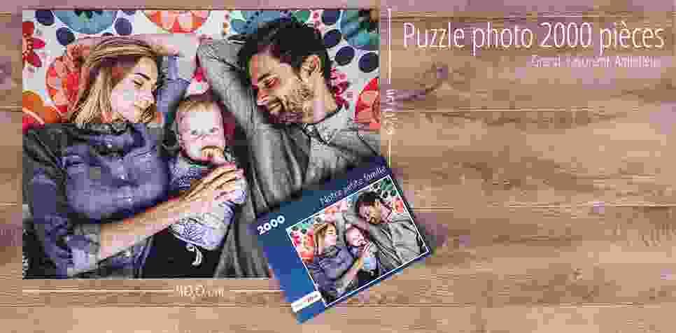 Puzzle photo 2000 pièces